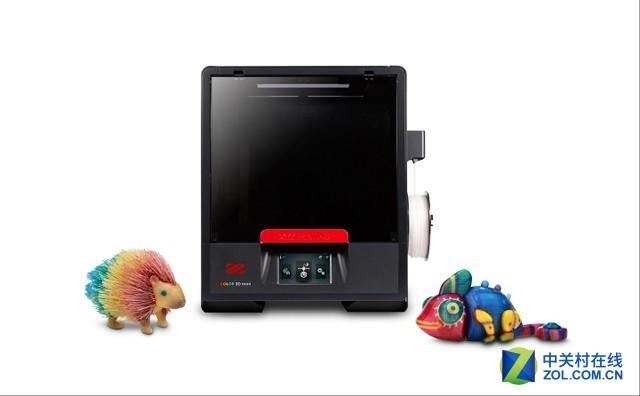CES直击:XYZprinting展示全彩3D打印机