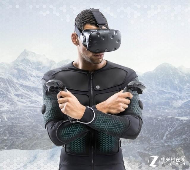 Teslasuit全身触觉反馈VR套装 赢得红点设计奖