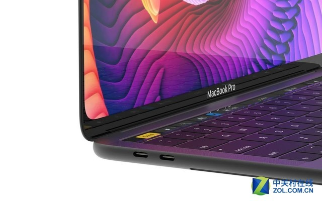 MacBook Pro概念设计曝光 屏幕大圆角设计