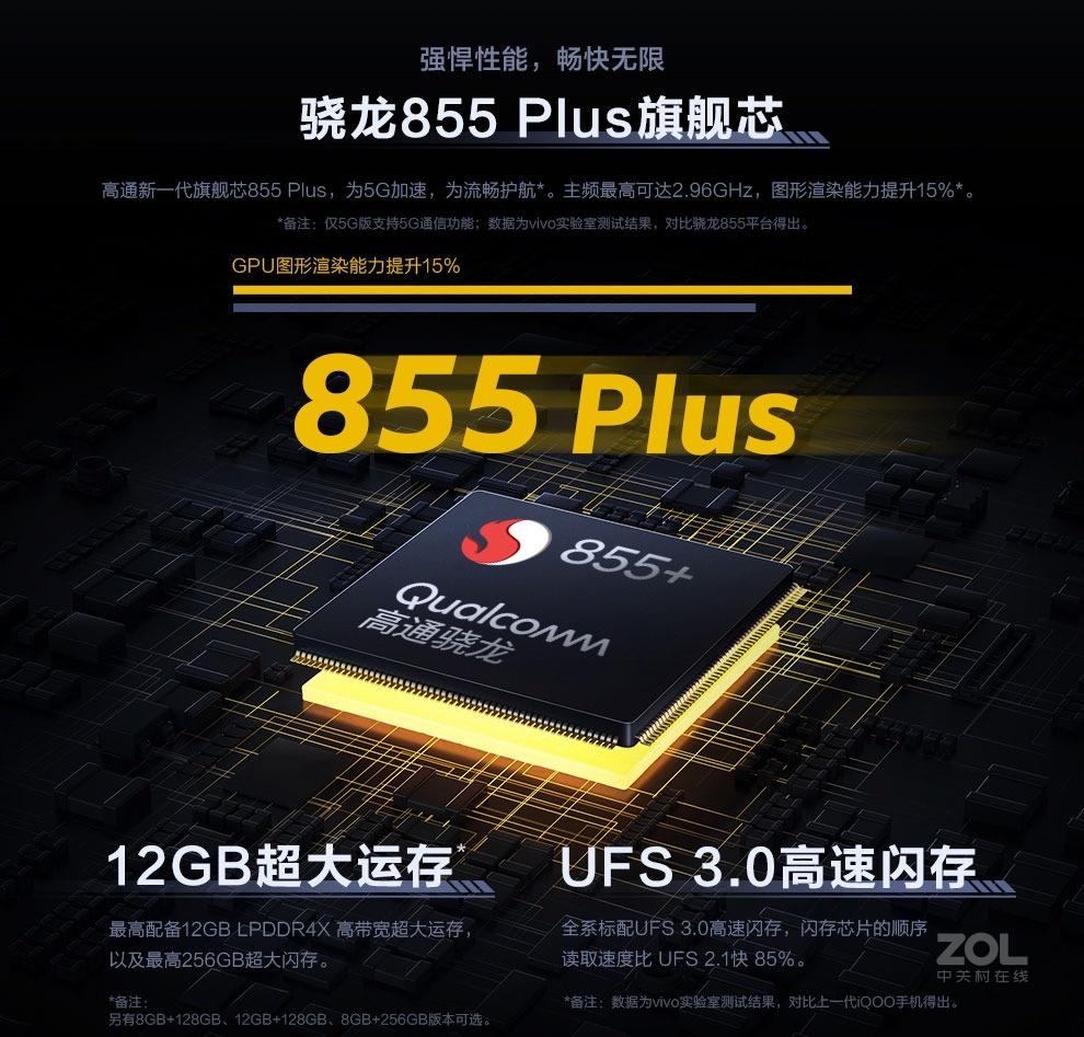 vivo iQOO Pro(8GB/128GB/5G全网通)评测图解产品亮点图片4