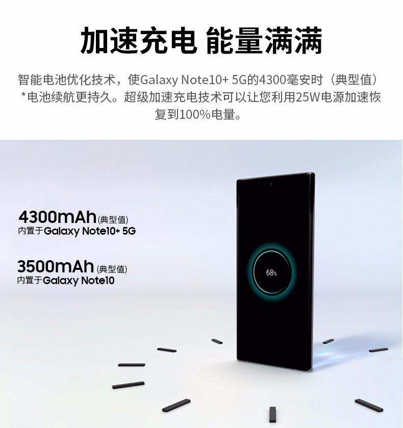 三星GALAXY Note 10(8GB/256GB/全网通)评测图解产品亮点图片6