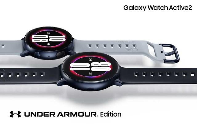 三星Galaxy Watch Active 2 推出安德玛定制版