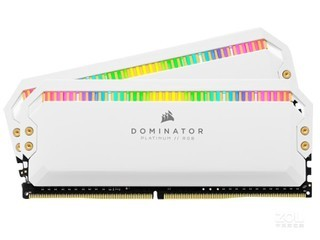 海盗船统治者RGB 16GB(2×8GB)DDR4 4000 白色特别版