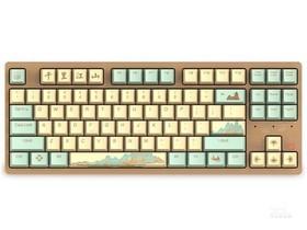 达尔优A87 千里江山机械键盘