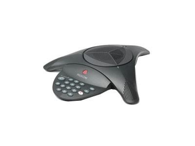 POLYCOM SoundStation 2 基本型  电话:010-82699888  可到店购买和看产品宝利通2基本会议电话