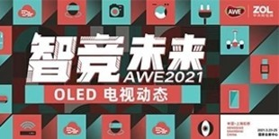 2021 AWE上海家电展-OLED电视动态