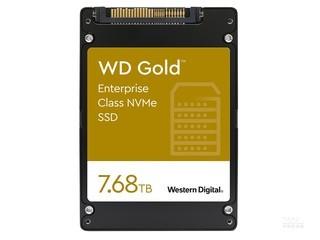 西部数据Gold 企业级 NVMe SSD(7.68TB)