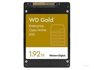 西部数据Gold 企业级 NVMe SSD(1.92TB)