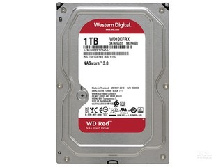 西部数据红盘 1TB 5400转 64MB SATA3(WD10EFRX)