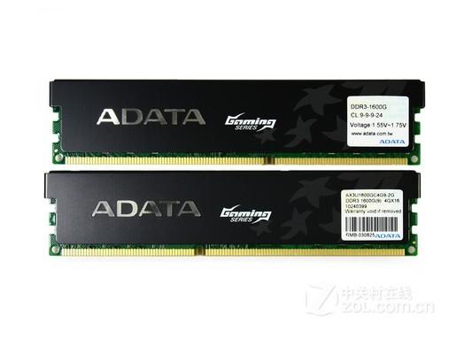 威刚游戏威龙 8GB DDR3 1600G