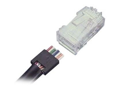 AMP RJ45电缆插头558211-1