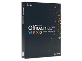 苹果Microsoft Office for Mac 2011 家庭与企业版-1安装