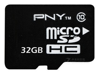 PNY Micro SDHC/TF卡 Class10(32GB)