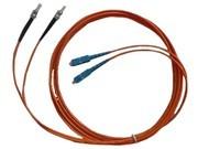 清华同方 2米双芯单模光纤跳线(ST-SC)(FJ2ST-SC-S2)