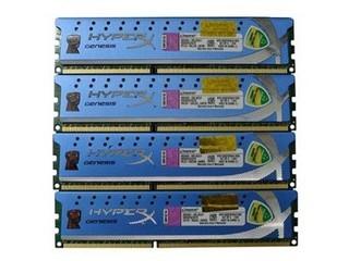 金士顿16GB DDR3 1600 HyperX系列(KHX1600C9D3K4/16GX套装)