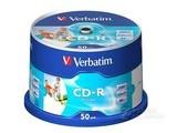威宝白金可打印CD-R 52速 700M(50片桶装)