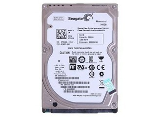 希捷Momentus 500GB 7200转 16MB SATA2(ST9500423AS)