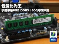 性价比为王 宇瞻单条8GB/1600内存评测