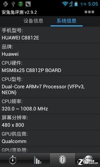 1GHz单核升双核 天翼定制华为C8812+评测