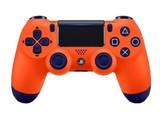 索尼PlayStation 4游戏手柄 夕阳橘