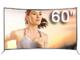 缤正LED55A88 60寸曲面金属防爆屏电视版